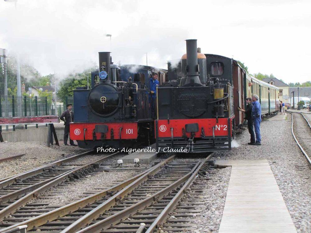 Train touristique Baie de Somme