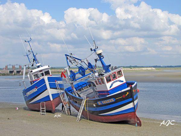 chambre hotes Les Vert Linettes  Bateaux de pêche