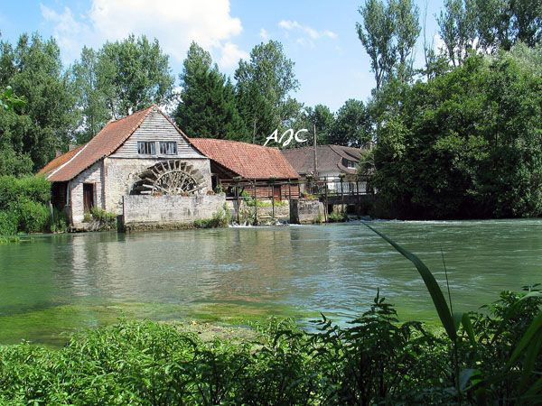 Chambre hôtes Les Vert linettes  Moulin de Maintenay